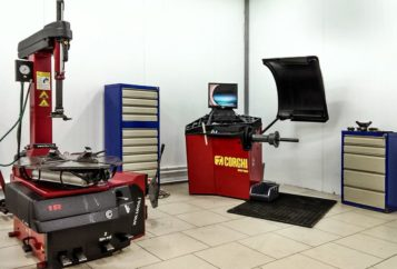 Шиномонтаж и шиномонтажное оборудование