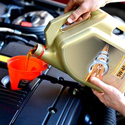 Замена масла в двигателе с фильтром