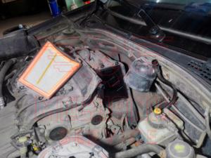 Замена воздушного фильтра Renault Duster / Рено Дастер | Техническое обслуживание автомобиля в короткие сроки и по комфортной цене в Липецке