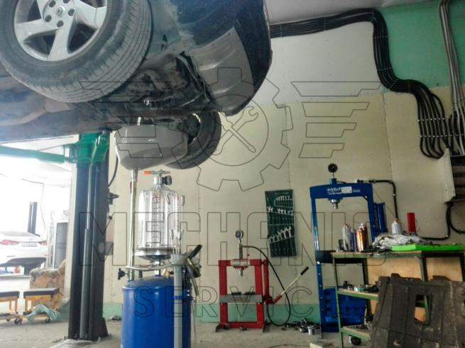 замена масла, техническое обслуживание Renault Duster Рено Дастер
