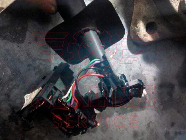 Ремонт подрулевого переключателя Renault Duster / Рено Дастер