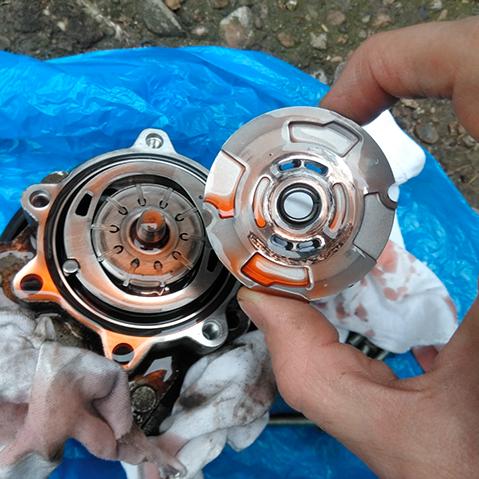 ремонт насоса гур рено дастер