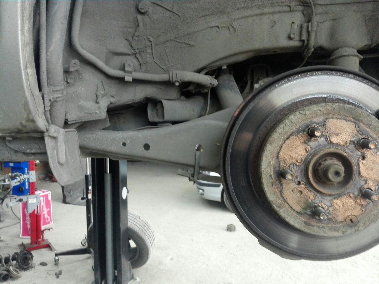 Замена сайлентблоков, ремонт ходовой части в Липецке